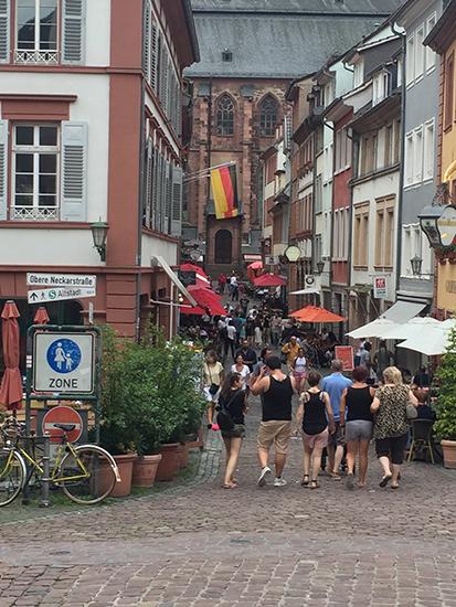 ハイデルベル旧市街